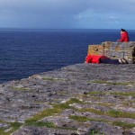 Photographing the 100 metre drop