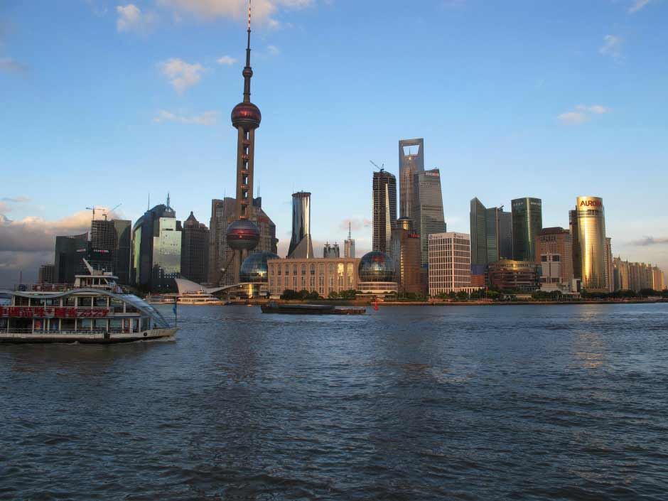Shanghai the new look