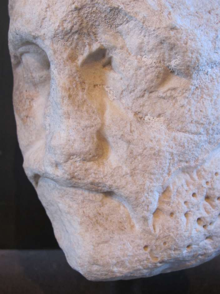 Colosseum, head of a poet