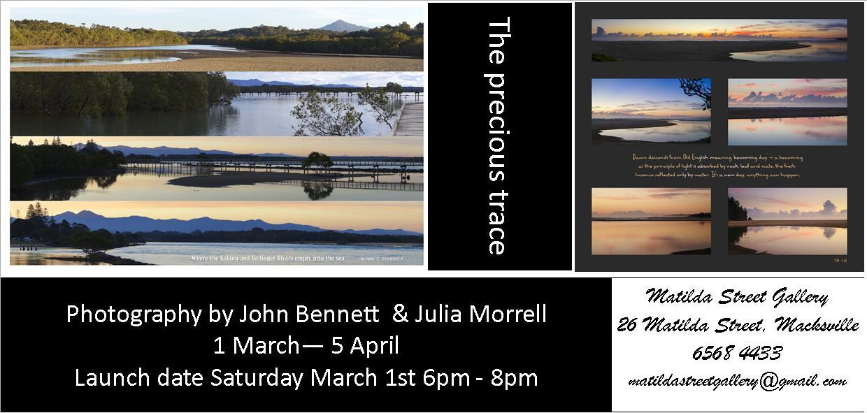 John Bennett & Julia Morrell - The Precious Trace front