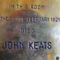 Finding John Keats