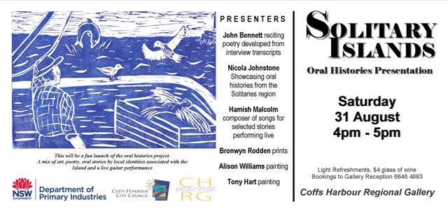 Solitary Islands event 31 Aug