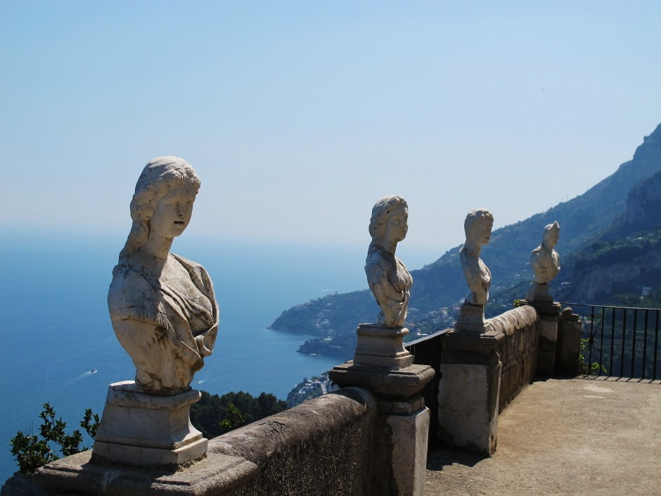 Ravello infinite terrace