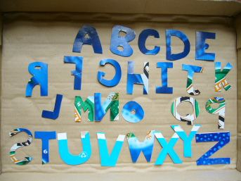 Bowerbird experiment letters