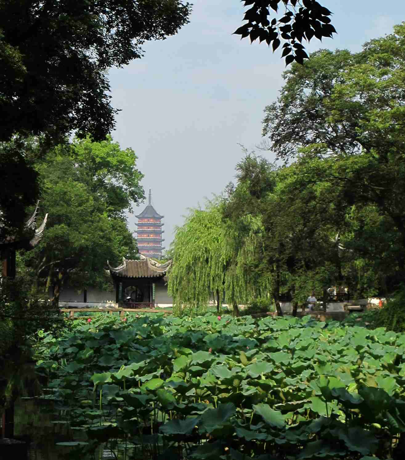 Garden of Humble Administrator, borrowed pagoda