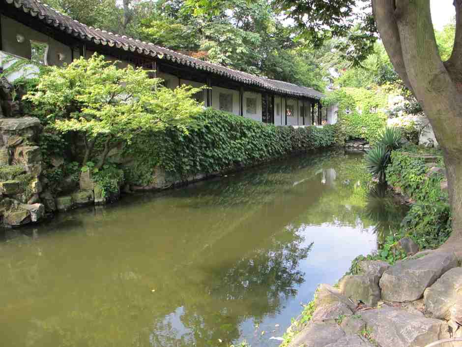 Garden of Humble Administrator, canal and walkway