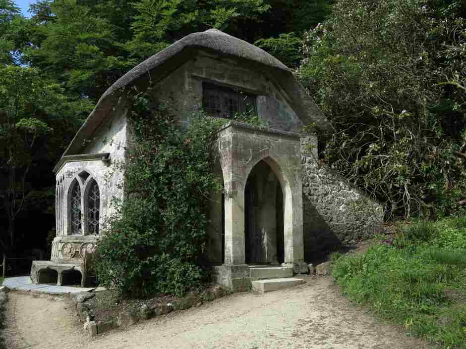 Stourhead, Gothic cottage