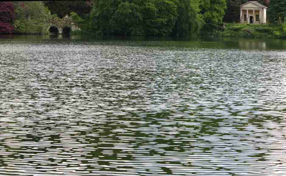 Stourhead, Temple of Flora and boat house