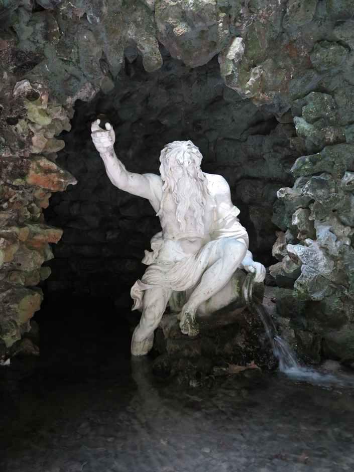 Stourhead grotto, River God