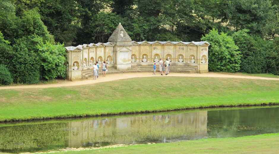 Stowe,  Temple of British Worthies