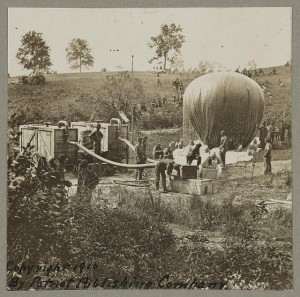 American Civil War, Balloon Company
