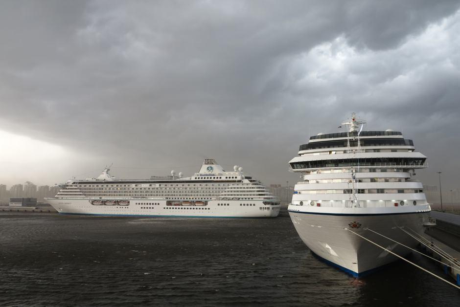 storm, St Petersburg