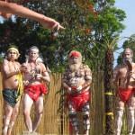 Bellingen, Uncle Martin's Gumbaynggirr  dancers