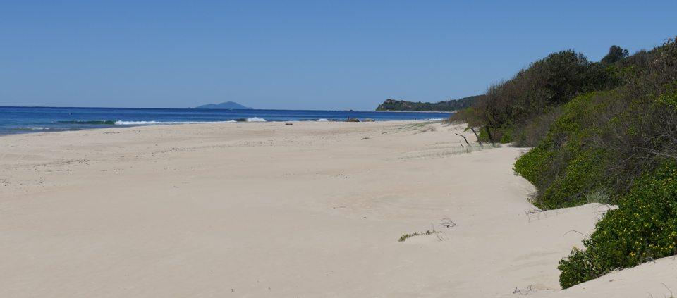 South of Urunga Lagoon
