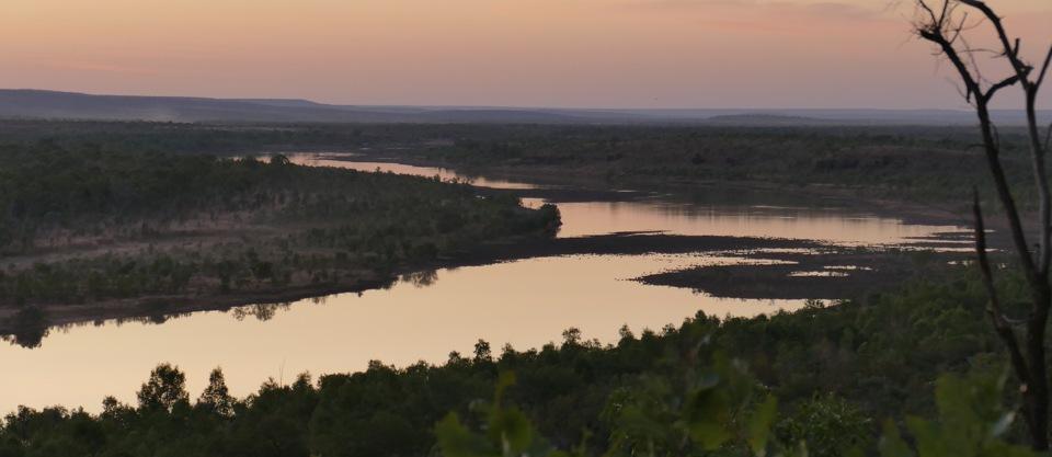 Pentacost River dusk