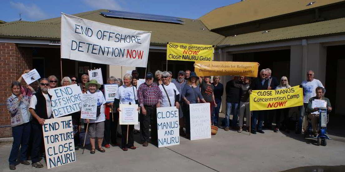 Nauru demo Nambucca Monday 15_