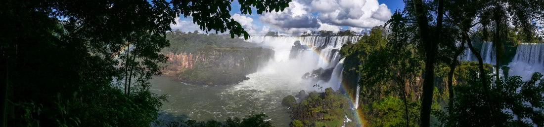 Panorama, Iguazu Falls