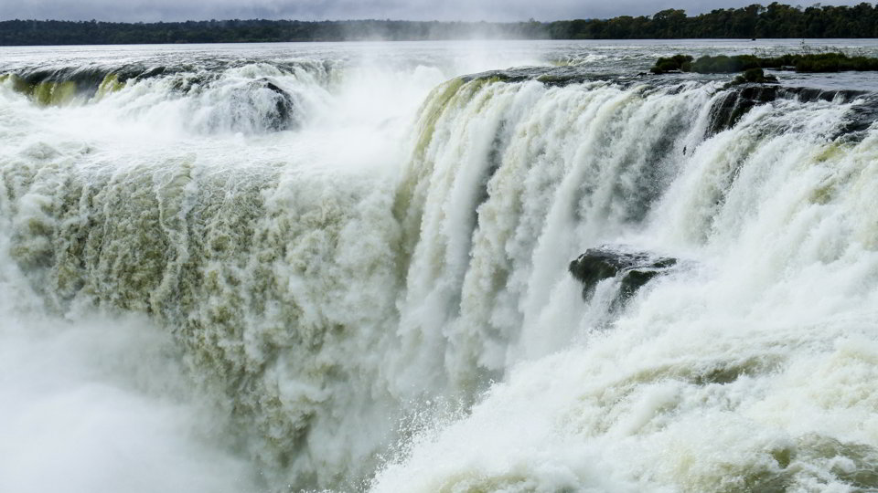 The Devil's throat, Iguazu