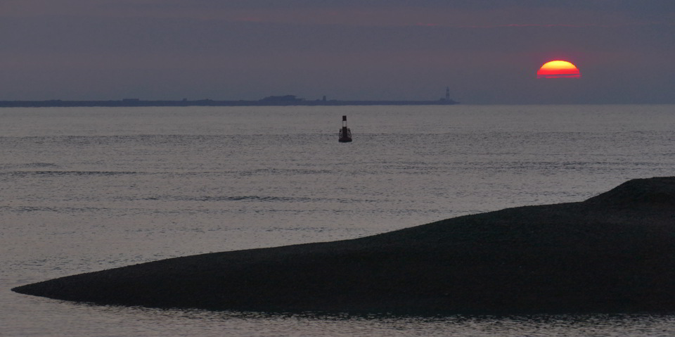 Sunrise, Orford Lighthouse