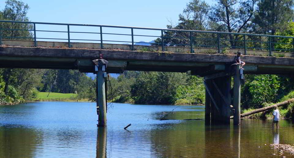 Lavender bridge, Bellinger