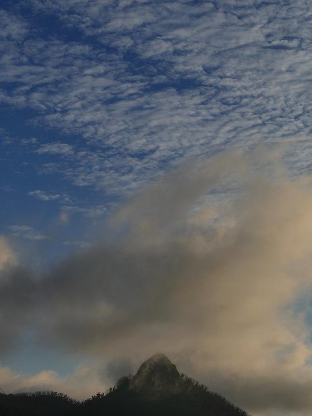 Volcanic cone, dawn Warrumbungles