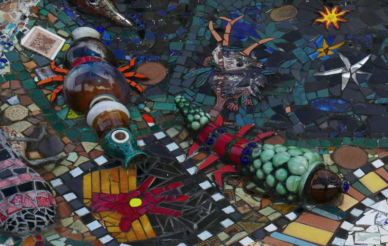 Mural_sea creatures