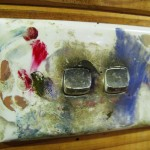 Arthur Boyd's studio, light switch