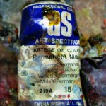 Arthur Boyd's tube of paint