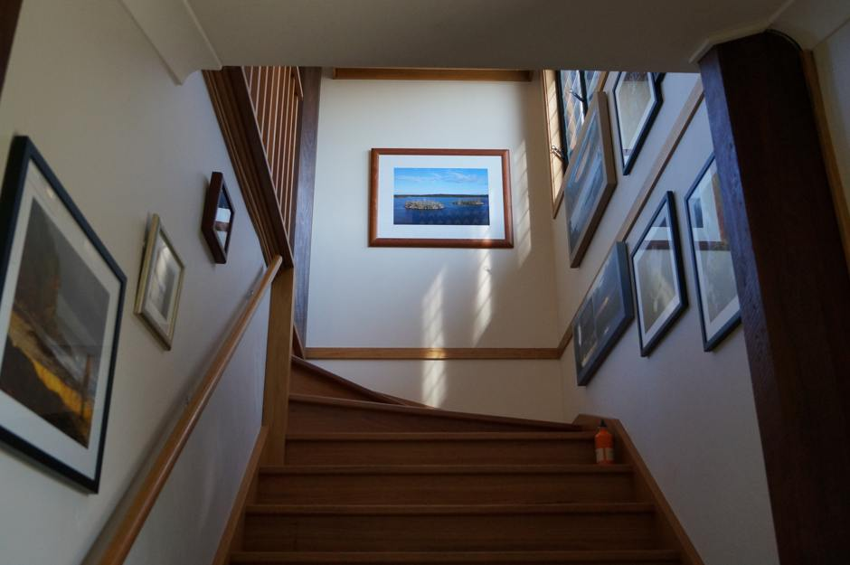 Photo of Blue Poles Open Studio