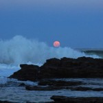 Valla Beach Moon's perigee