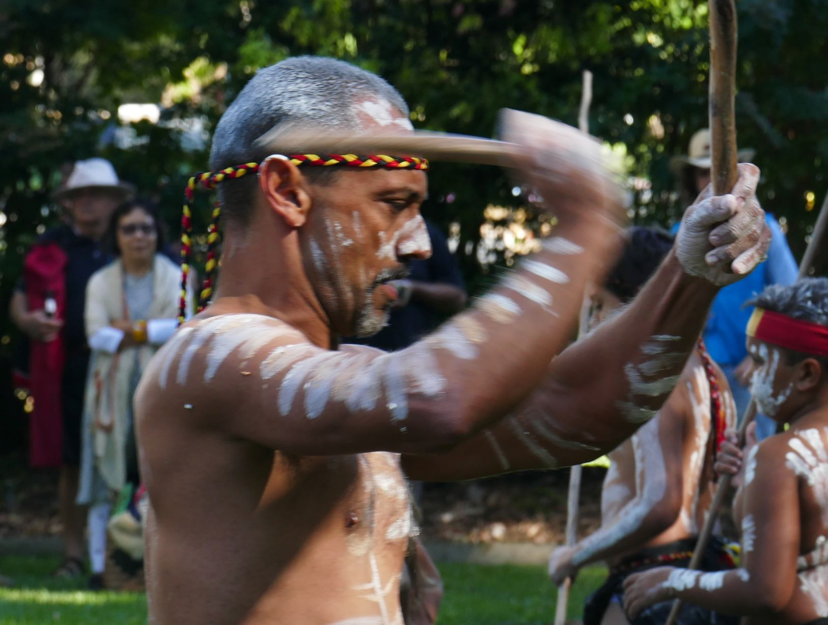Photo of Harmony Day in the North Coast Regional Botanic Garden. March 31st.