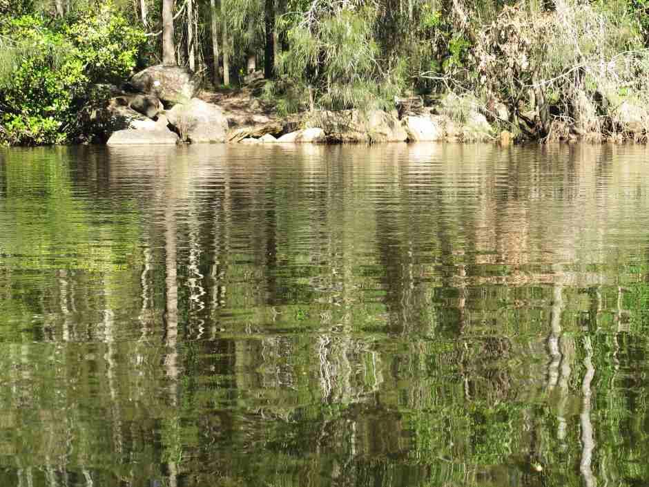 Warrel Creek by canoe