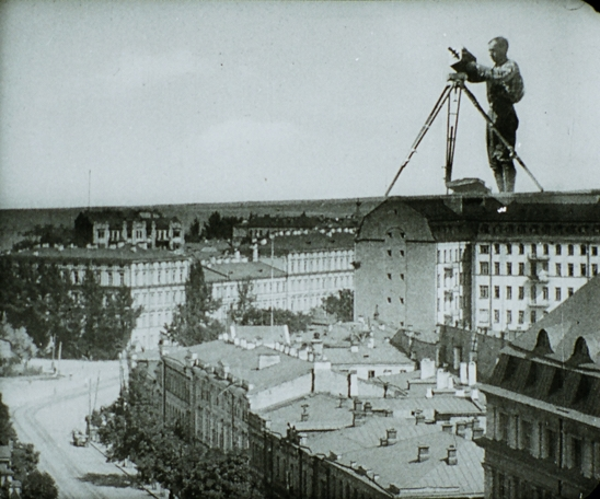 Man with a Movie Camera, still from film
