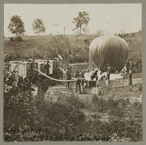 American Civil War, Balloon Company