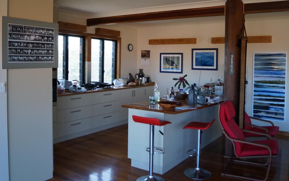 Open Studio, kitchen