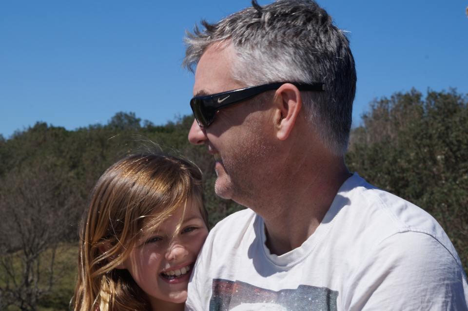 Kalena and dad