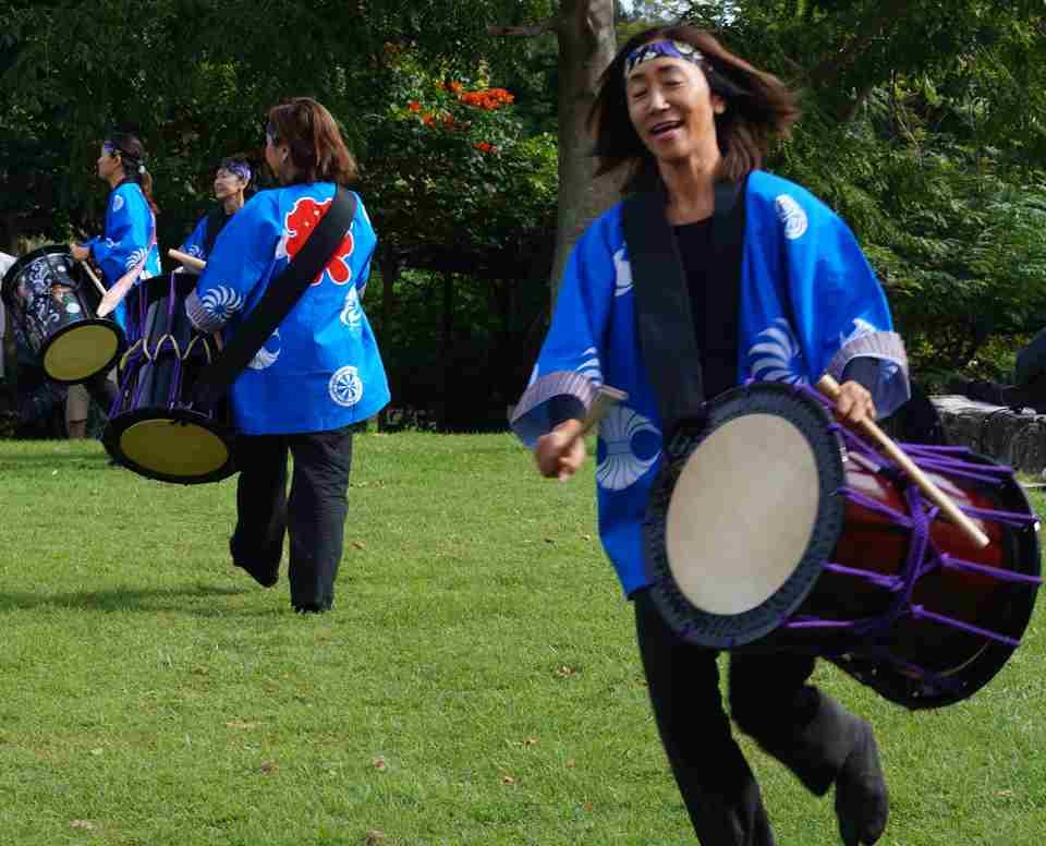 Kizuna Gold Coast Taiko drummers1