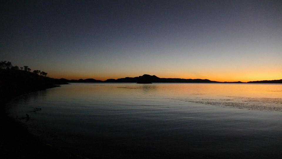 Lake Argyll dusk