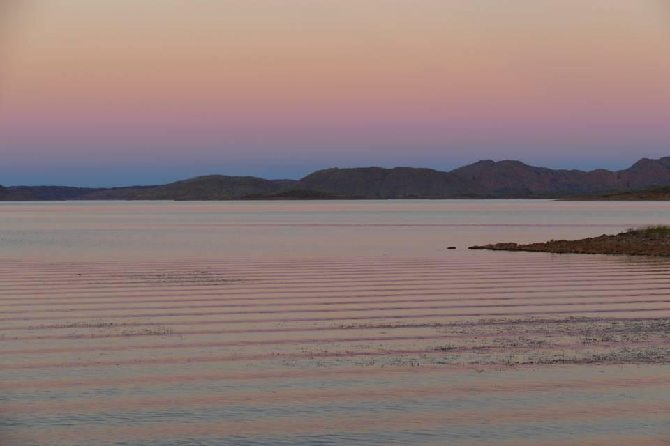 Lake Argyll sunset