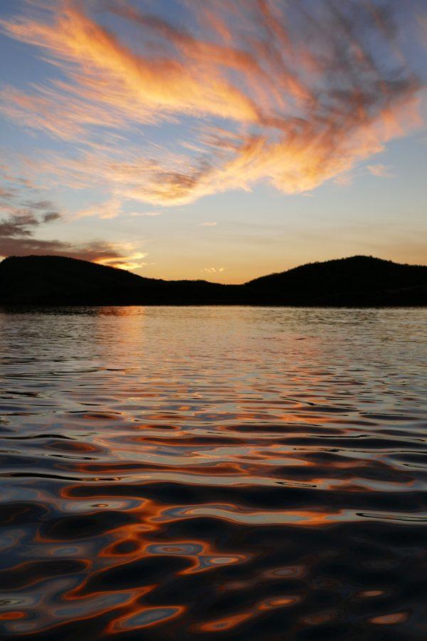 Lake Argyll sunset2