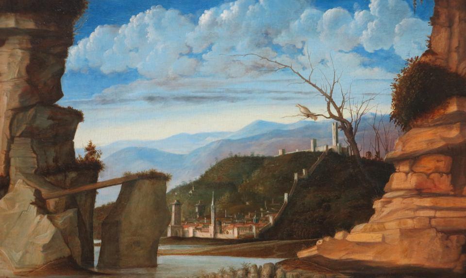 London 2015 Bellini, landscape detail National