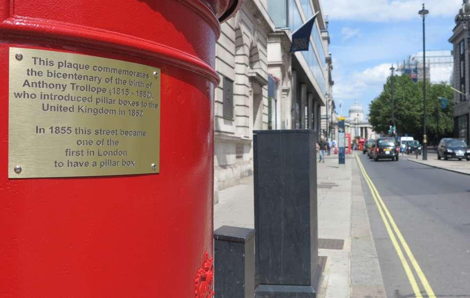 London 2015 Post Box