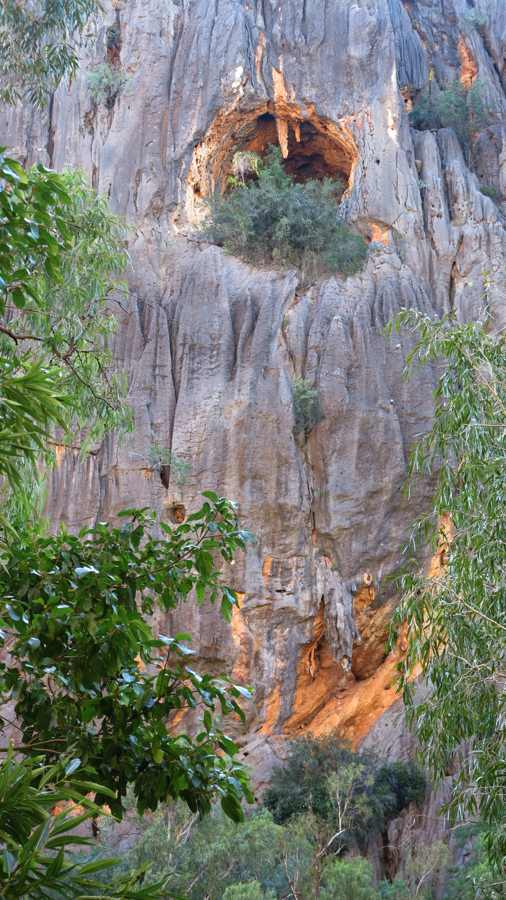 Windjana Gorge cave