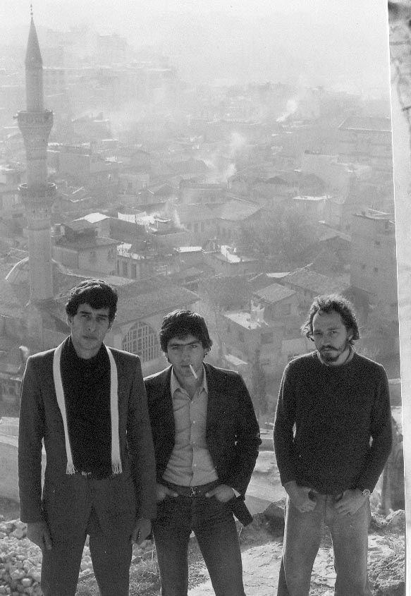 On Aleppo Citadel c1975
