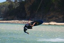 Photo of Kitesurfers Valla Beach