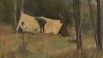 Photo of 7. A brief history of Australian Impressionism: how Curlew Camp came about